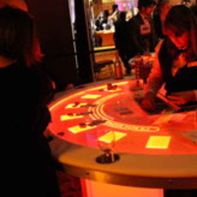Colorado Casino Nights, LED Casino Tables